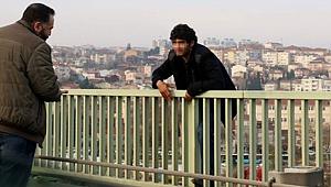 Hasan İnan Haliç Köprüsü'nde...