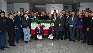 İran heyeti Gebze'de