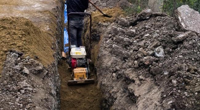 Karamürsel'in kırsal mahalleleri sağlıklı alt yapıya kavuştu