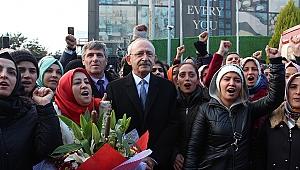 Kılıçdaroğlu Flormar işçilerine destek sözü verdi