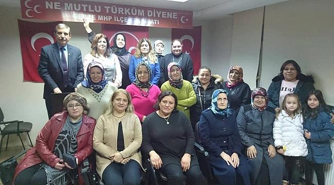 MHP'li Kadınlar zafere inanıyor