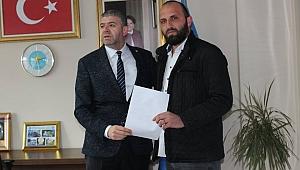 Sedat Tozar'da başvuru yaptı