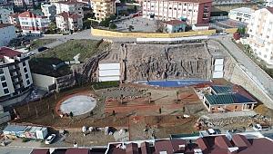 Şelale Park büyük ölçüde tamamlandı