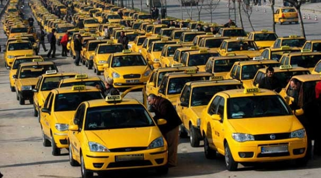 Taksiciler için 'standart' talebi