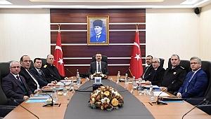 2019'un ilk güvenlik toplantısı yapıldı