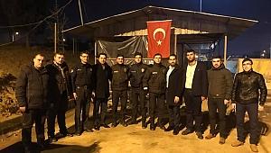 AK Gençler güvenlik güçlerine gitti!