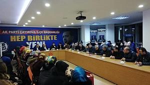 AK Parti Çayırova, Erdoğan için hazır