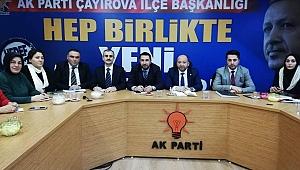 AK Parti Çayırova'da, İcra Kurulu belli oldu