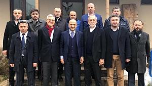 AK Partili vekiller Kandıra'ya çıkarma yaptı
