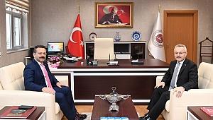 Aksoy, Gebze Başsavcısı Erdal Kuruçay'ı ziyaret etti