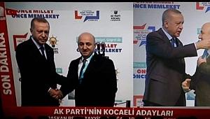 Bıyık, Erdoğan'a atkı hediye etti