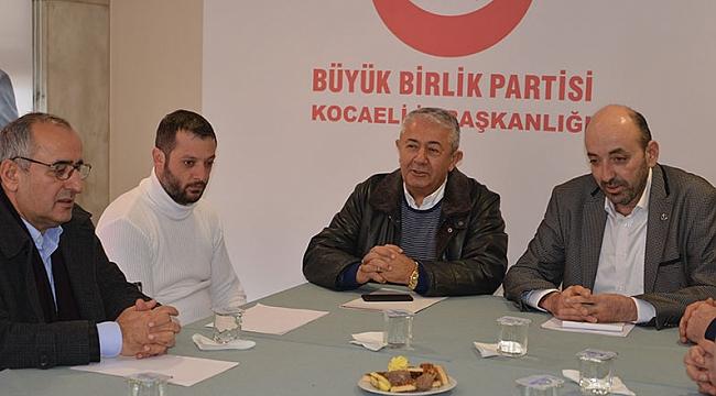 CHP, parti ziyaretlerine BBP'den başladı