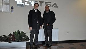Demirci, DETSA'yı ziyaret etti
