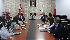 Farabi'de toplantılar devam ediyor