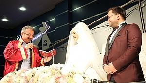 Gebze'de 2 bin 716 çiftin nikahı kıyıldı