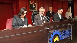 Gebze'de yeni yılın ilk meclisi yapıldı