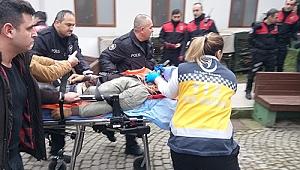 İzmit'in göbeğinde silahlı yaralama