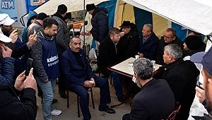 İZOCAM işçilerine CHP'den destek!