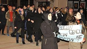 Kadınlar, intihar ve uyuşturucuya karşı yürüdü