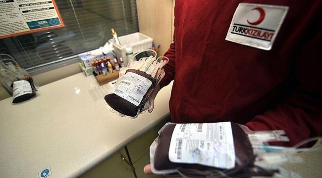 Kan bağışı çağrısına vatandaşlardan yoğun ilgi