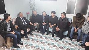 Kaymakam Karaman, şehit ailesini ziyaret etti