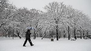 Kocaeli için kar uyarısı