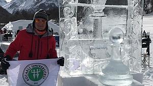 KOÜ, Fransa Buz Heykel Sempozyumu'nda