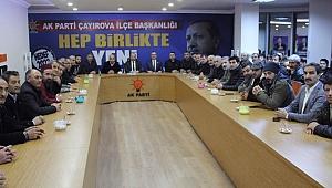 Ordulular'dan AK Parti Çayırova'ya ziyaret