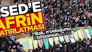 PKK'dan Esed'e Afrin hatırlatması