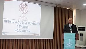 Sağlık çalışanlarına güvenlik semineri