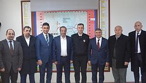 Şayir'den kurumlara ziyaret