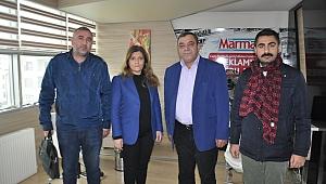 Serap Çakır'a destek ziyaretleri sürüyor