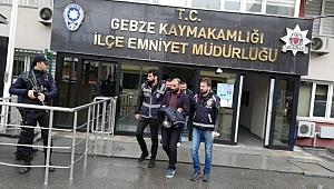 13 Camiyi soyan hırsız tutuklandı!