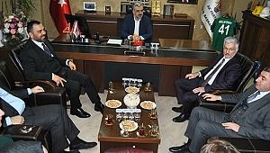 Bakan Yardımcısı Yerlikaya'dan AK Parti'ye ziyaret