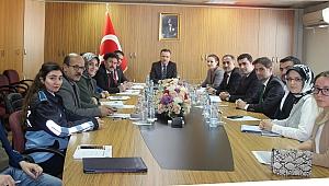 Çayırova'da koordinasyon toplantısı