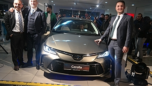 Corolla'nın 12'nci nesli Gebze'de tanıtıldı!
