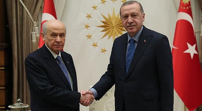 Cumhurbaşkanı Erdoğan, yarın Bahçeli ile görüşecek