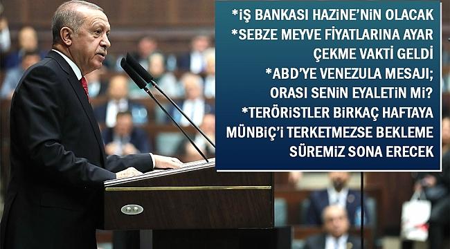 Erdoğan Sebze Meyve Fiyatlarına Ayar çekme Vakti Geldi Gündem