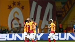 Galatasaray'da yıldızlar şov yaptı