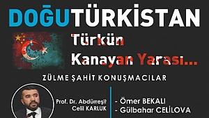 Genç MÜSİAD Gebze'den Doğu Türkistan konferansı