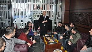 Darıca'da gençler Bıyık'a destek sözü verdi!