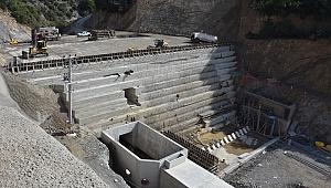 İhsaniye Barajı yeniden hız kazandı