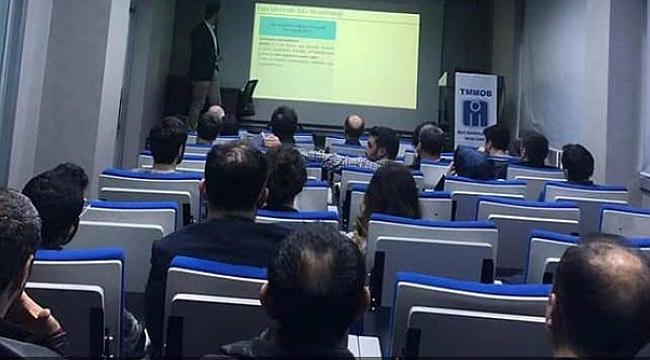 İMO'da  İSG semineri