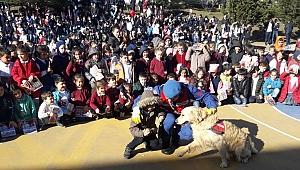 Jandarma ilkokulda tanıtımda bulundu