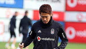 Kagawa Beşiktaş'ın Antalya kadrosunda