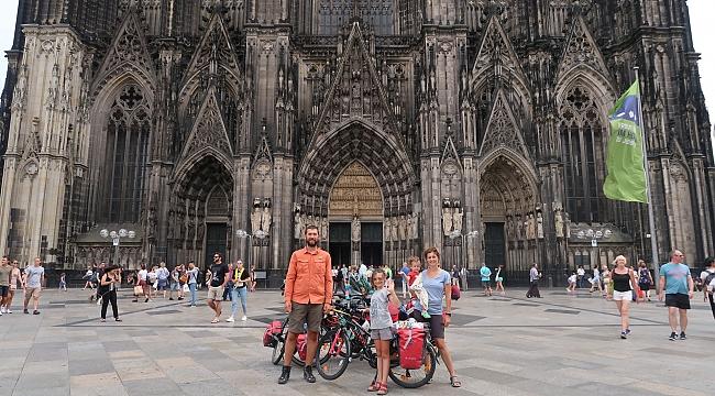 Kandıra'da hazırlandılar, bisikletle Avrupa'yı dolaştılar