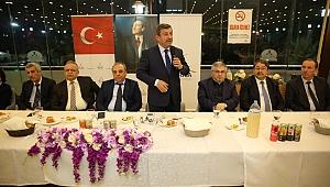 Karabacak STK ve dernek başkanlarını ağırladı