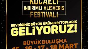 """Kocaeli alışverişe doyacak """"Alışveriş Festivali"""" başlıyor"""