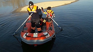 Kocaeli'de aranan eski polis Meriç Nehri'ne atladı