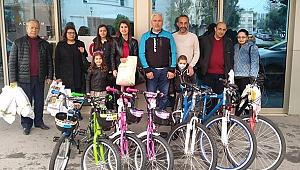 Kocaeli'den Adana'ya bisiklet hediye ettiler